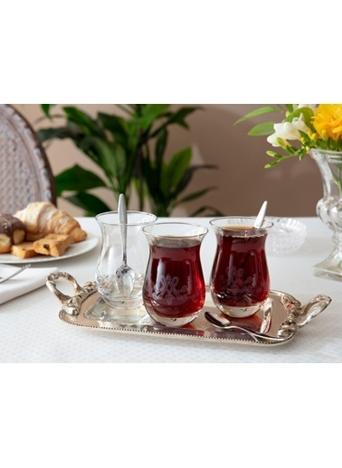 Madame Coco Antoinette 6'Lı Çay Bardağı Renkli